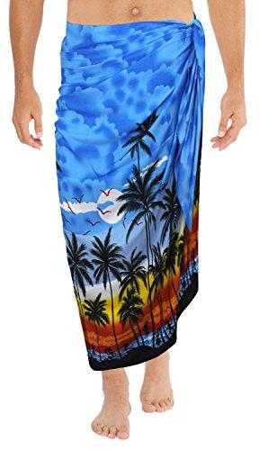 Mens sarong Bathing Suit Swimsuit Swimwear Beachwear Wrap Pareo Beach Towel Valentines Day Gifts 2017
