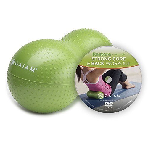 Gaiam Restore Strong Core & Back Care Kit w/ DVD