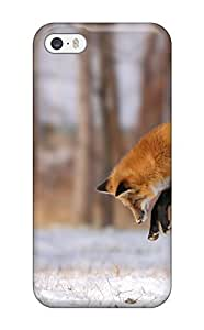 EuqTKWD9171GFxEi Tpu Phone Case With Fashionable Look For Iphone 5/5s - Fox