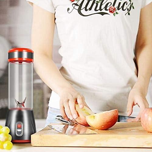 YWSZJ USB portátil Recargable eléctrica Licuadora Smoothie Fabricante de Jugo Exprimidor Vaso Mezclador exprimidor de Fruta de Naranja Extracto