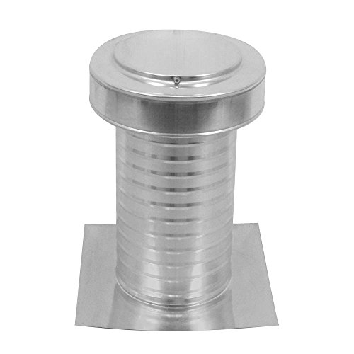 7 inch Diameter Keepa Vent an Aluminum Roof Vent for Flat Roofs