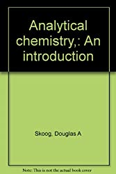 Analytical chemistry,: An introduction