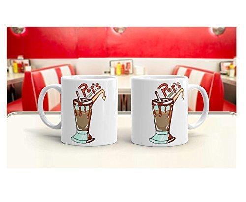 Pop's Diner Mug Funny Mug Awesome Mug Coffee Lover Mug