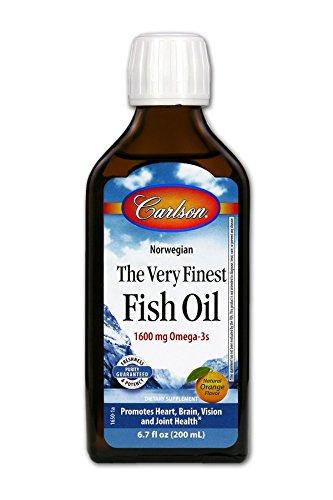 Carlson Finest Liquid Omega 3 Orange