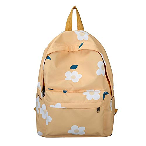 Printed Backpack Fashion Outdoor Travel Daypack Water Resistant Bookbag for Women (B) ()