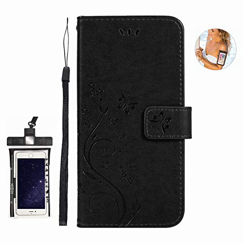 Flip Case for Huawei P30 PRO Luxury Leather Bussiness Phone Case Cover for Bussiness Gifts with Free Waterproof Case