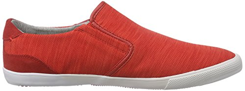 Boxfresh Sanford Flk Mesh/Sde - Zapatillas Hombre Rojo - Rot (BOLD RED/GREY)