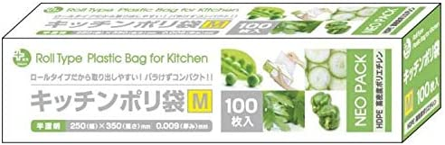 生活 雑貨 家事用品関連 BOXポリキッチンポリ袋HD-M 半透明100P×60個