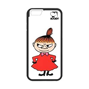 [Perfect-Fit] iPhone 6 Case, [moomin] iPhone 6 (4.7) Case Custom Durable Case Cover for iPhone6 TPU case(Laser Technology)