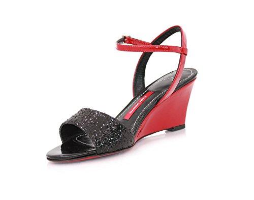 Noir De Femmes Talons Talons Noires Diamant Diamant Sandales Des Mode qISzpw