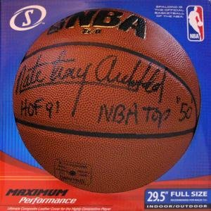 Nate Archibald Autographed Basketball - Autographed Basketballs
