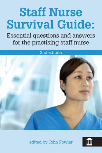 Staff Nurse Survival Guide Pdf