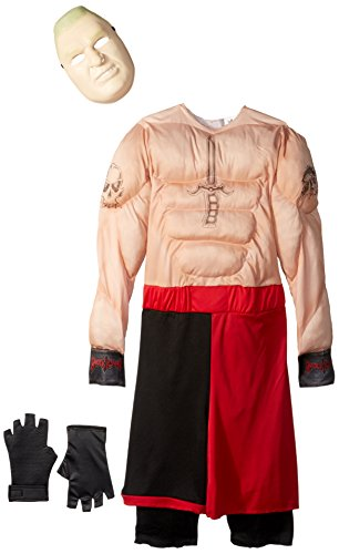[Disguise Brock Lesnar Classic Muscle WWE Costume, Large/10-12] (Undertaker Childrens Costume)