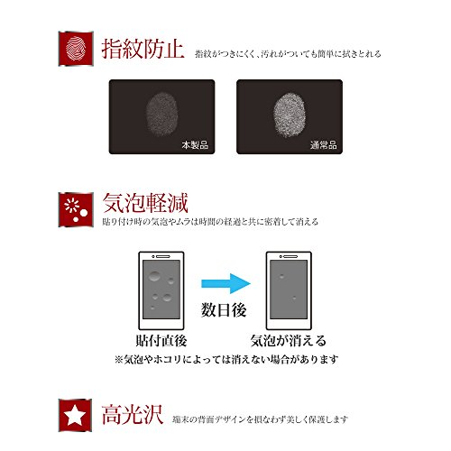 MS Products Galaxy S9(SC-02K/SCV38)用 保護フィルム 全背面3D Film?光沢?衝撃吸収/背面LEPLUS(ルプラス)SHIELD?G HIGH SPEC FILM LP-GS9FLGFLH