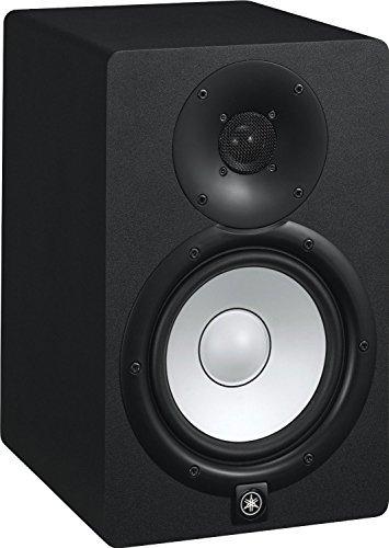 Yamaha HS8 Powered Studio Monitors Pair Black w/ XLR Cables - Bundle