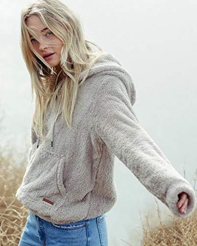 Billabong Women's Cozy For Keeps Fleece Hoodie Coconut Shell Small from Billabong