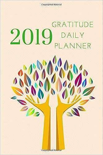 Gratitude Calendar December 2019 2019 Gratitude Daily Planner: Small Mini Calendar To Fit Purse