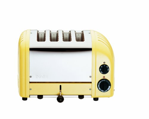 Dualit 40416 4-Slice Vario Classic Toaster-Canary Yellow