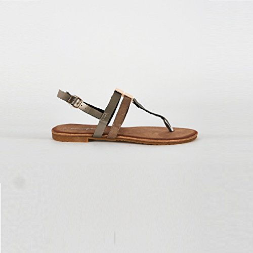 Stylish Fashion 8313-212sil-004 - Sandalias de vestir para mujer