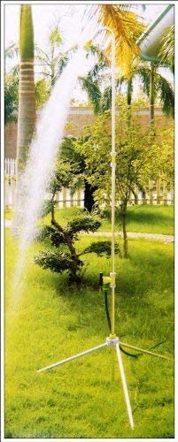 telescópica Jardín ducha XL hasta 225 cm de aluminio para 1/2 ...