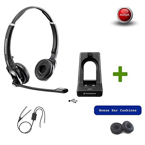 Sennheiser SD PRO2 - Deskphone Cordless Headset with Avaya E