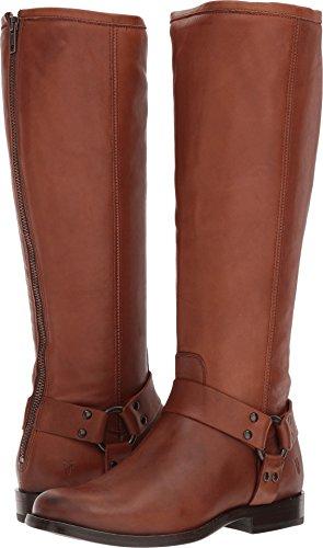 FRYE Women's Phillip Harness Tall Boot, Cognac, 7.5 M US