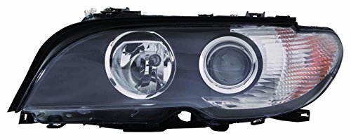 2005 Bmw 330ci Convertible - DEPO 344-1134L-AS2C BMW 3 Coupe/Convertible Driver Side Head Lamp Assembly Halogen White Turn Indicator