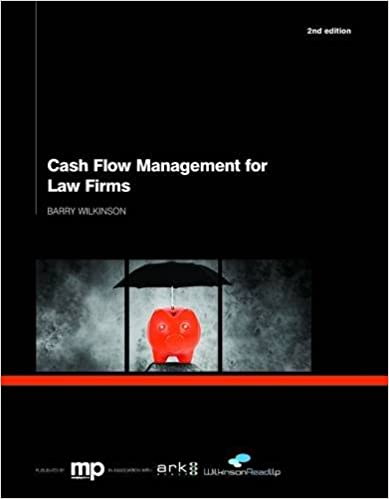Barry Wilkinson - Cash Management for Law Firms book cover