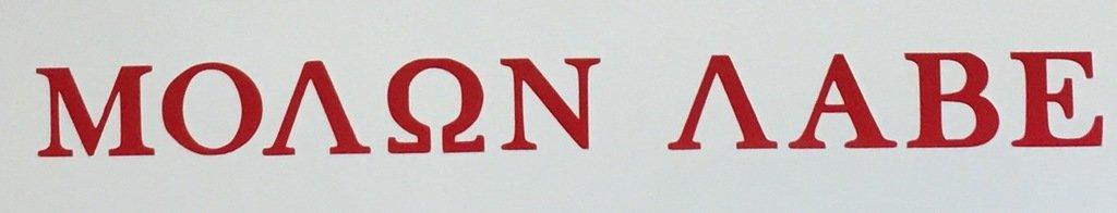 COME AND TAKE THEM! vinyl decal sticker |/Red Vinyl CMI515 Molon Labe 10.75