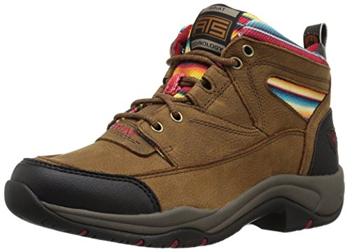 Ariat Women's Terrain Work Boot, Walnut/Serape, 8 B US by Ariat