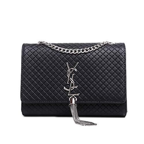 High Room 2018 SHRJJ Quality 6CM Bag Shoulder Leather Diaper 15 Women Fashion Checkered Baby Bag for Crocodile Bags Capacity One pattern Large Medium Pattern 20 Crossbody Black Red Shoulder qOYAwO