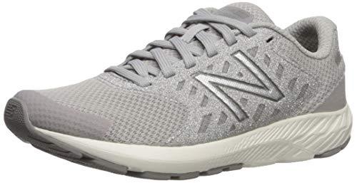 New Balance Girls' Urge V2 FuelCore Running Shoe, RAINCLOUD/MARBLEHEAD, 1 XW US Little Kid