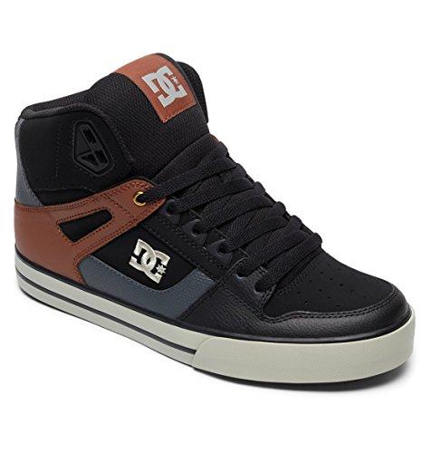 SPARTAN WC Unisex DC Tan Sneakers Erwachsene HIGH Hohe Black wEBBqd