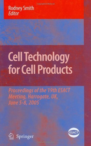 Cell Technology for Cell Products: 3 (ESACT Proceedings) Pdf