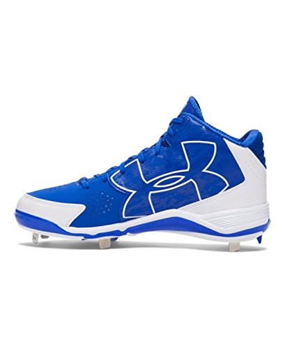 White Baseball Royal Men's Under UA Mid Armour Ignite Cleats FZq8w