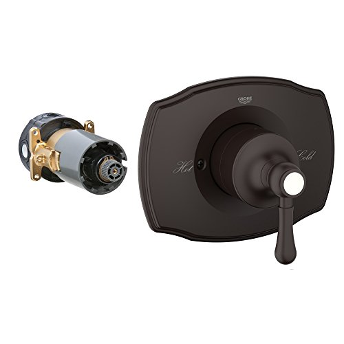 Grohflex Authentic Single Function Pressure Balance Trim With Control Module (Grohflex Authentic Pressure Balance)