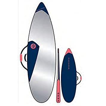 Madness Funda Tabla PE 6.0 Shortboard Azul Rojo