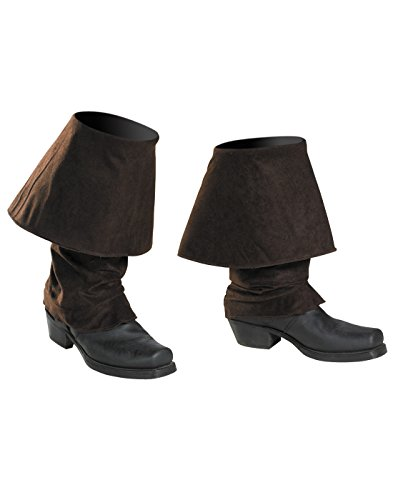 Disney Pirates Of The Caribbean Pirates Boot Covers Costume Accessory, One Size Child (Pirate Costumes Footwear)