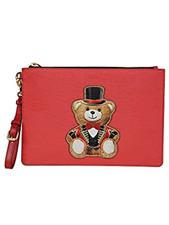 Moschino Women's A842982101115 Red Polyester Clutch