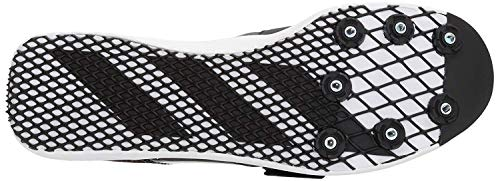 adidas Adizero tj/pv Running Shoe core Black, FTWR White, Orange 14.5 M US by adidas (Image #4)