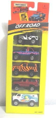 Matchbox 5 Pack OFF ROAD SET 1994 Very Rare by Matchbox: Amazon.es: Juguetes y juegos