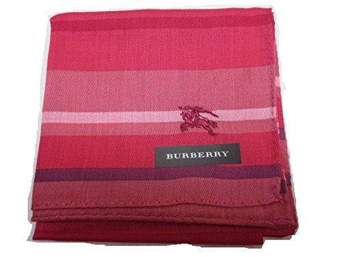 Burberry Women's Handkerchief Horizontal Stripe Horse of Embroidery - Burberry Handkerchief