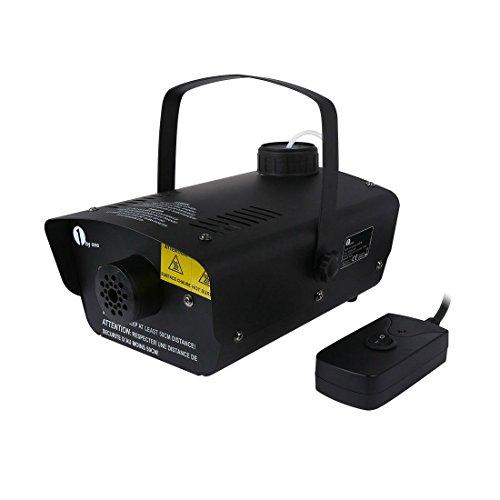 1byone 400 Watt Fog Effect Smoke Machine Wired Control DJ Disco Party Halloween Buyer's Choice (Halloween Smoke Machine)