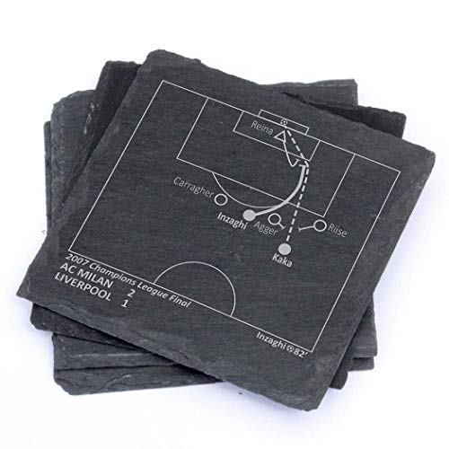 Greatest AC Milan Plays - Slate Coasters (Set of 4) ()