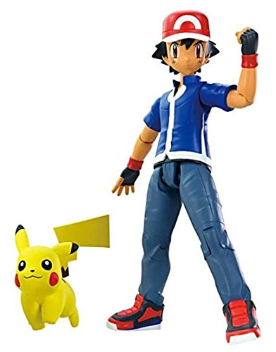 "Pokémon Ash and 2"" Pikachu"