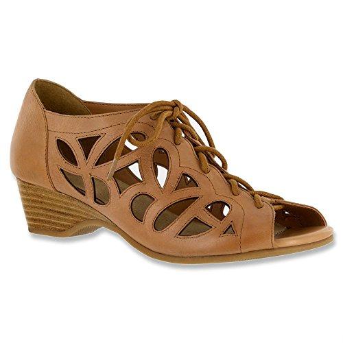 Bella Vita Pixie - Sandalias de Tobillo Para Mujer Camel Leather