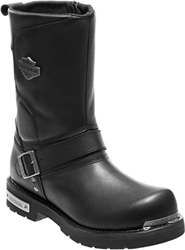 (Harley-Davidson Men's Paxford Performance Motorcycle Boots D96137 (Black, 9))