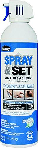 Homax PRODUCTS 2300 16 oz Adhesive Wall Tile