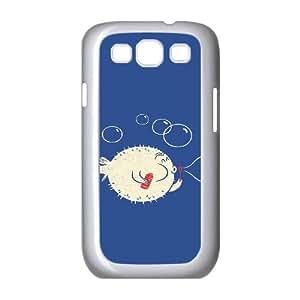 Samsung Galaxy S3 Cases Funny 134, Fun [White]