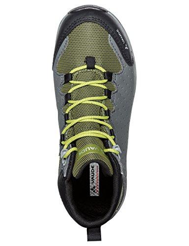 VAUDE Lapita Mid Cpx, Zapatos de High Rise Senderismo Unisex Niños Amarillo (Duff Yellow)